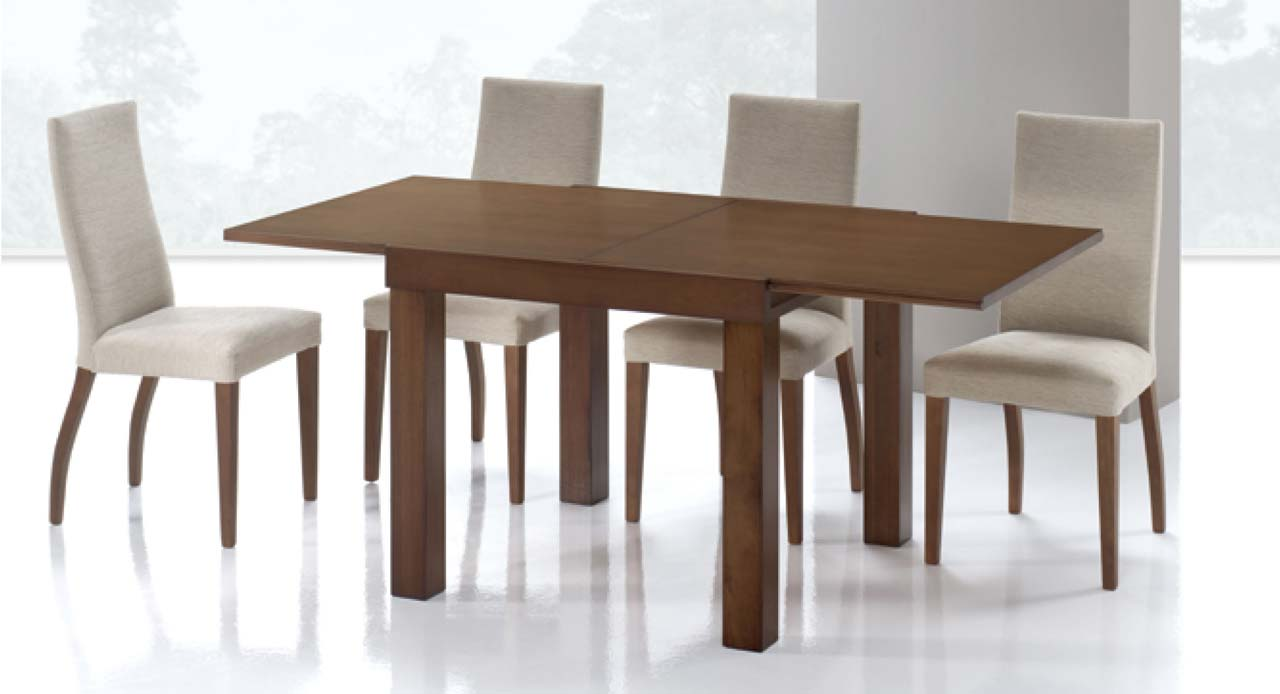 Mesa comedor extensible cuadrada la mesa de centro for Mesa cuadrada extensible