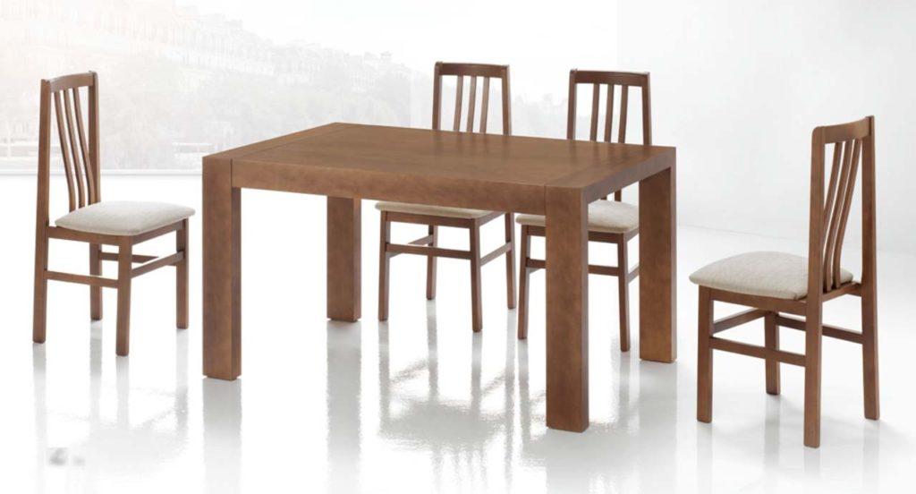 Mesas de comedor de madera extensibles la mesa de centro for Mesas de comedor extensibles de madera baratas