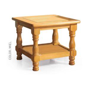 mesa rincón madera maciza