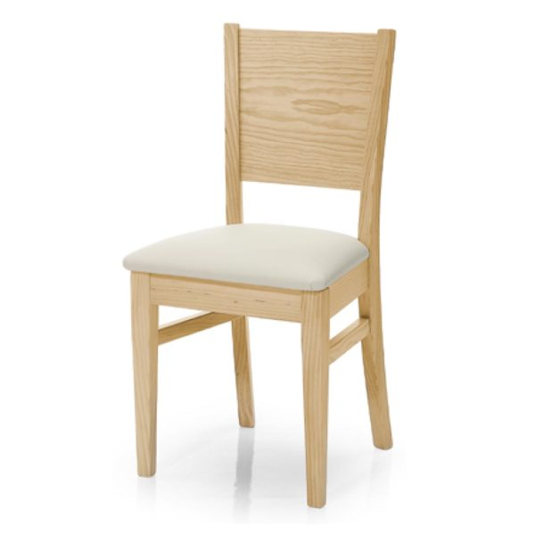 silla comedor estilo nordico de madera