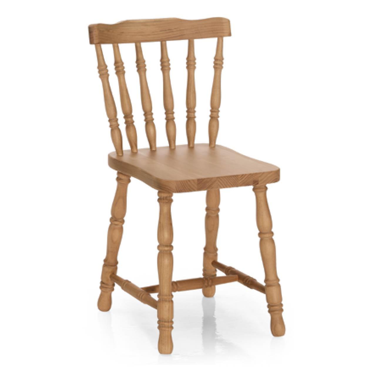 Silla cl sica de madera torneada lamesadecentro for Modelos de sillas clasicas
